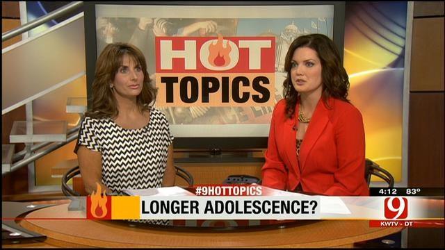 Hot Topics: Longer Adolescents?