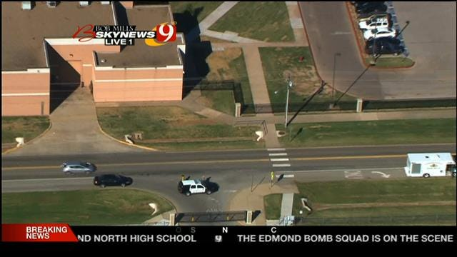 Lockdown Lifted At Edmond North High School