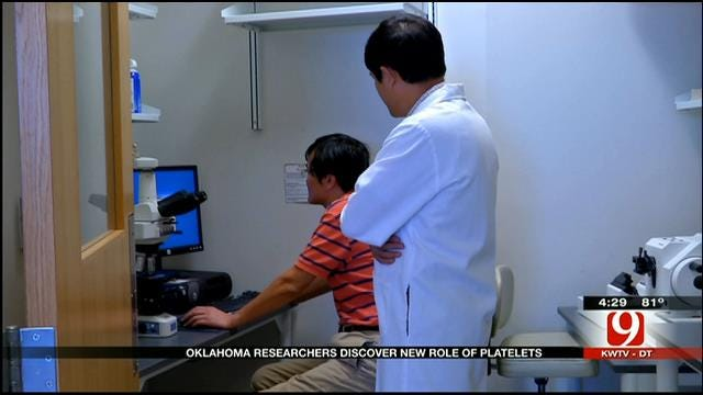 Medical Minute: OK Researchers Discover New Role Of Platelets