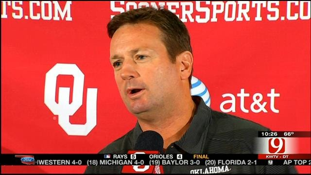 Sooners Face Pivotal Contest At Notre Dame