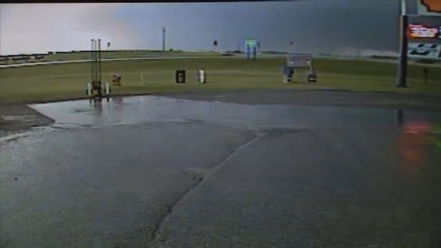 WEB EXTRA: New Surveillance Video Of Massive El Reno Tornado