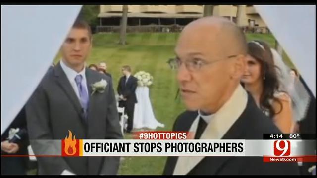 Hot Topics: Officiate Stops Photographers