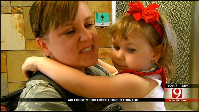 Moore Soldier Who Lost Home In Tornado Returns To Oklahoma