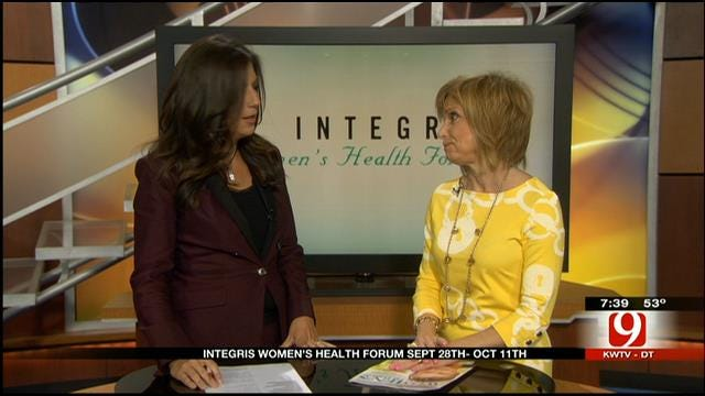 Dr. Bauman Talks About Integris Women's Health Forum