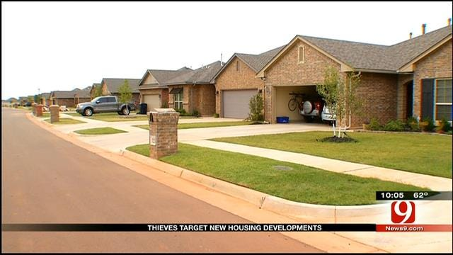 Rash Of Burglaries Strike New NW OKC Subdivision