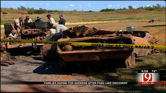 Family Waits For Answers After Cars Containing Human Remains Found In Lake