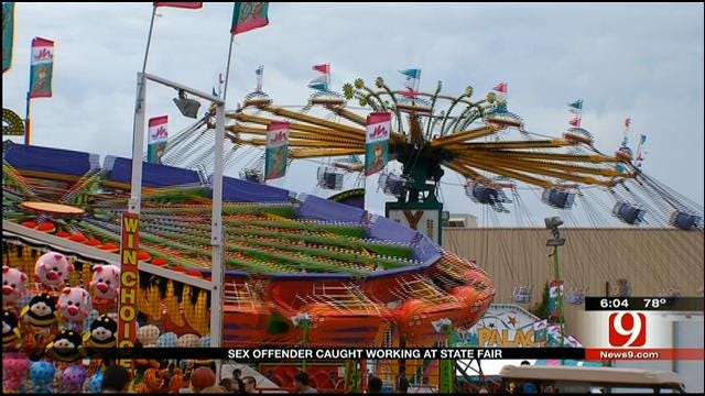 Parents Upset Learning Sex Offender Operated State Fair Ride