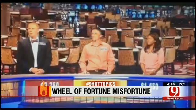 Hot Topics: Wheel Of Fortune Misfortune