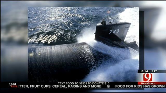 USS Oklahoma City Crew Makes Namesake Visit