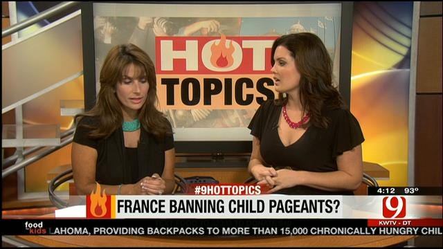 Hot Topics: France Banning Child Pageants?