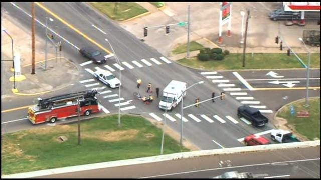 WEB EXTRA: SkyNews 9 Flies Over Hit And Run Accident In Del City