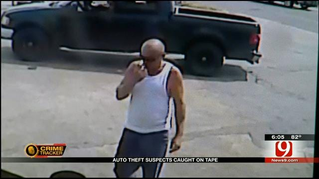 Caught On Camera: Thief Steals Blanchard Man's Car In SW OKC