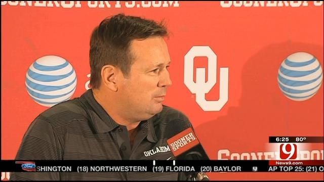 OU's Stoops Praises Blake Bell's Attitude