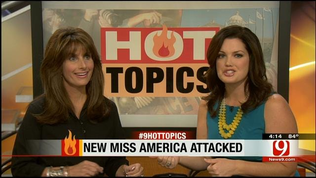 Hot Topics: New Miss America Attacked