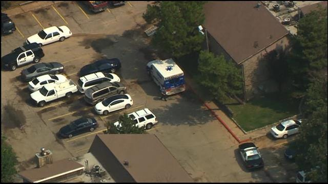 WEB EXTRA: Bethany Police Investigate Bethany Apartment Complex Shooting