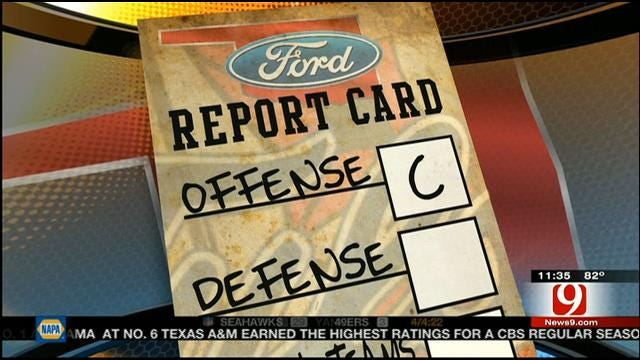 Tulsa Football Report Card