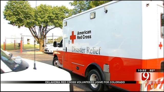 Red Cross Deploys Oklahoma Volunteers To Colorado