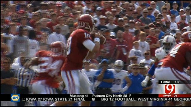 Third Downs Huge Part In Deciding Oklahoma-Tulsa