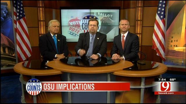 Your Vote Counts: Syria, Tort Law, OSSAA, OSU