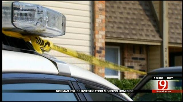 Neighbors Frightened, Worried After Fatal Shooting At Norman Apartments