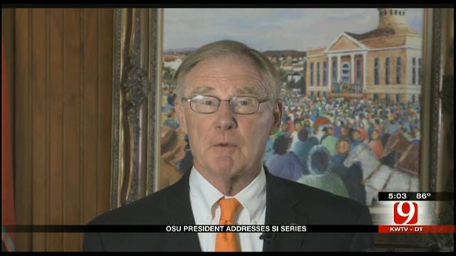 OSU President Burns Hargis Releases Video Statement On SI Investigation