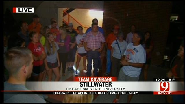 OSU Faithful Hold Rally For Fellowship Director Named In SI Article