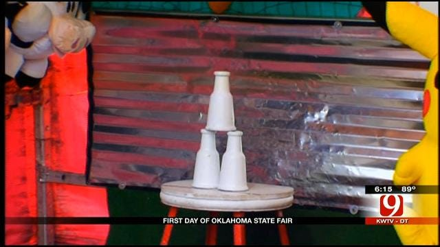 News 9's Steve McGehee Wraps Up Day One At The State Fair