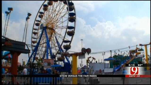 News 9's Steve McGehee Vs. Oklahoma State Fair Rides