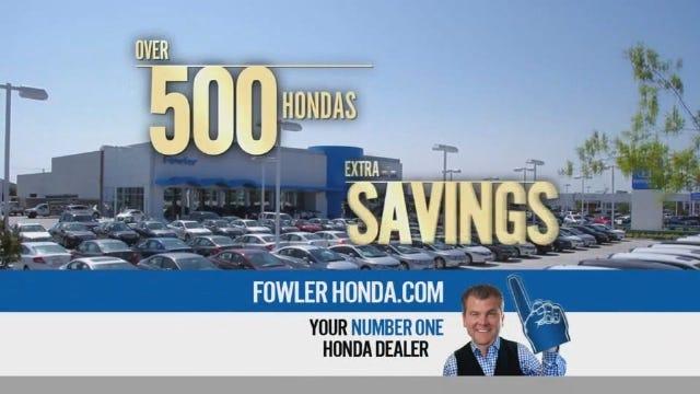 Fowler Honda: President's Award