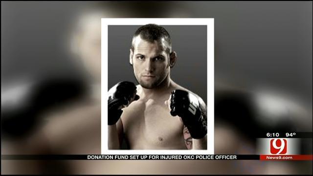 Fund Set Up For OKC Police Officer, Critical After Pott. Co. Crash