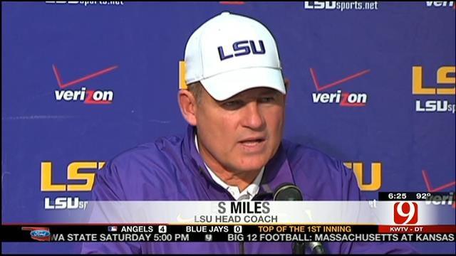 Former OSU Coach Les Miles Addresses Allegations