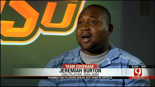 Former OSU Player Jeremiah Burton Speaks About SI Investigation