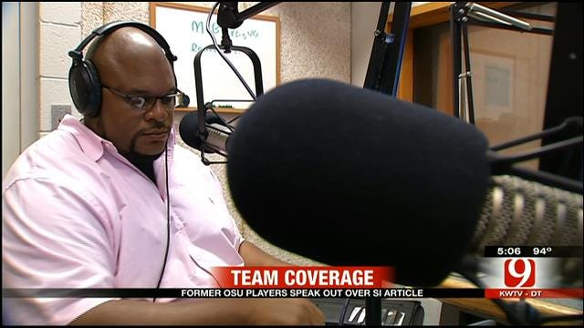 Former OSU Player Sam Mayes Talks About SI Allegations On Talk Show
