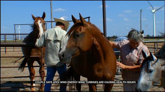 Calumet Man Says Wind Farm Threatens His Health