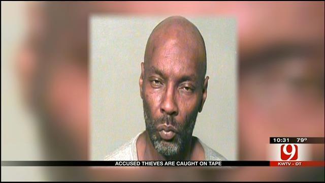 Del City Burglary Suspect Caught On Camera