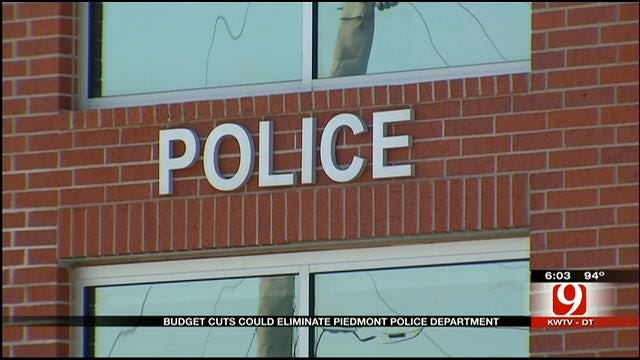 City Of Piedmont Considers Cutting Police Force To Save Money