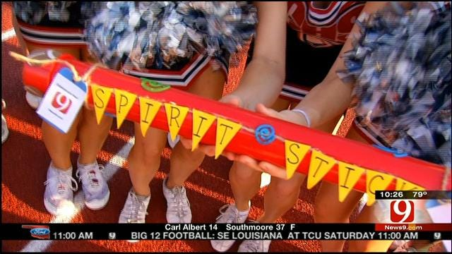 News 9 Spirit Stick: Heritage Hall Vs. Casady