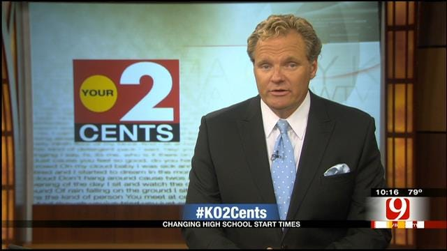 Your 2 Cents: High School Start Time And The Importance Of Sleep