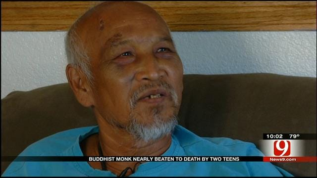 Buddhist Monk Severely Beaten In Spencer, Teen Suspects Sought