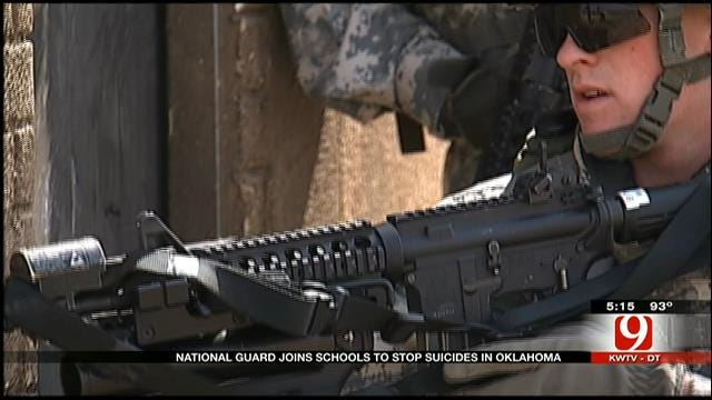 OK National Guard Hopes To Raise Awareness For Suicide Prevention