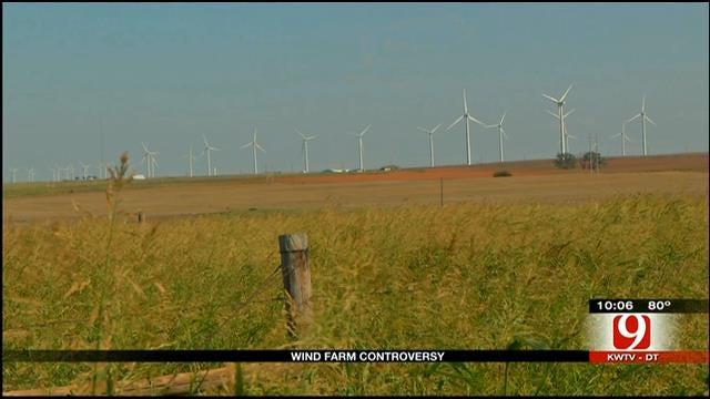 Weatherford Mayor Praises Economic Boost From Wind Turbines