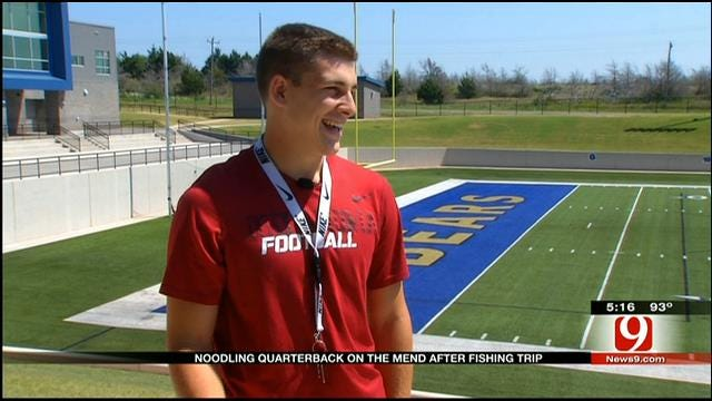 Noble High School Quarterback Cleared To Start After 'Noodling' Injury