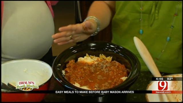 Sassy Mama Cooks Beefy Ziti In Lauren Nelson's Kitchen