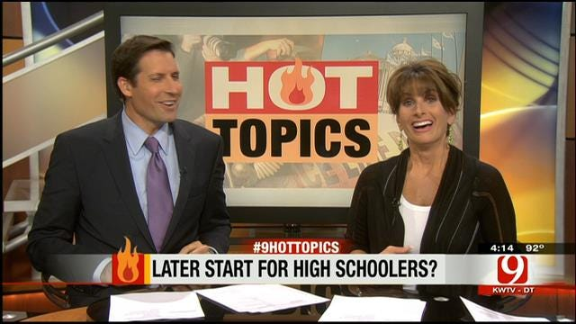 Hot Topics: Later Start For High Schoolers?