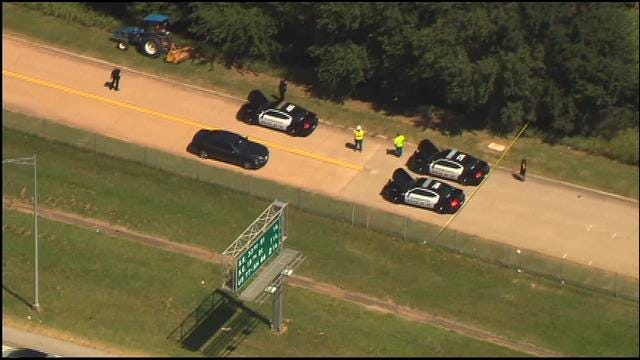 WEB EXTRA: Police Investigate Body Found In Edmond