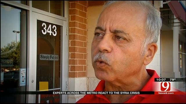 Syrians In Oklahoma React To Possible U.S. Strike In Syria