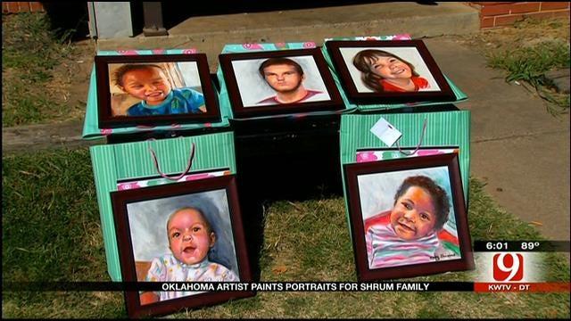OK Family Who Lost 5 Kids In Storm Receives 'Portraits Of Love'