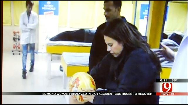 Paralyzed Edmond Woman Raises Funds For Treatment In India