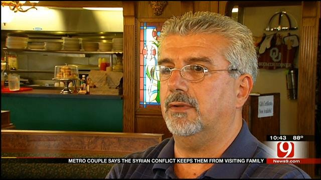 Syrians In OKC Fear For Family, Friends In Homeland