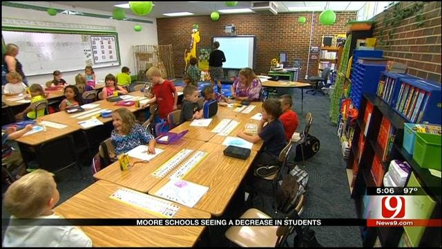 Moore School Enrollment Drops After Tornado